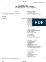 Macy's v. Strategic Marks, LLC, 3-2011-CV-06198 (N.D. Cal.) (docket, as of 3-22-13 AM)