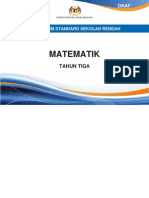 DOKUMEN STANDARD MATEMATIK TAHUN 3