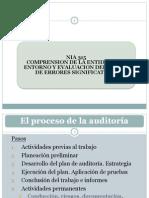 NIA 315 Comprension de La Entidad y Su Entorno y Evaluacion de Riesgo de Errores Significativos