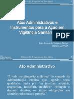 23 09 Atos Administrativos e Instrumentos Para a Acao Em Vigilancia Sanitaria