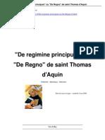 De Regimine Principum Ou de Regno_a9 Thomas Aquin
