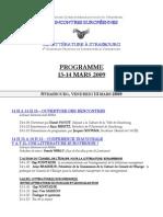 988 - 4° Rencontres Europeennes de Litterature