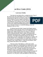 Hudson River Guide 2013 (latest revision)