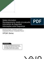 VPCM12 Series Safety