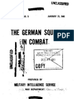 The German Squad in Combat