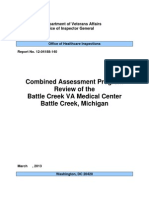 VA-OIG - Review Of Battle Creek VAMC