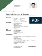 Patrick Resume