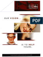 Direct Vision Insurance Web Site Brochure