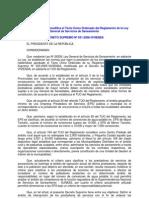 d.s. 031-2008-Vivienda Modifican El Tuo Del Regalemnto de La Ley General de Saneamiento