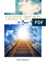 God's Word in Your Mouth