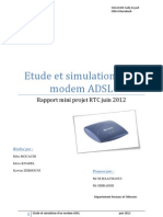 Simulation Modem ADSL Rapport PS