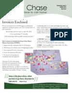 FCHOA Newsletter Issue 2 Spring 2013