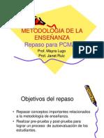 Repaso Pcmas Metodologia de La Ensenanza Read Only