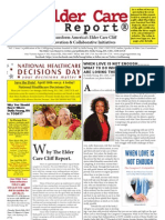 THE ELDERCARE CLIFF REPORT