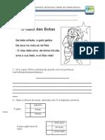 Ficha Do Gato Das Botas