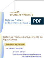 USP-Poli-Civil-PCC2465 - Sistemas prediais de  Suprimento de Água Quente
