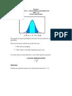 Statistics Unit 6 Notes