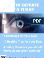 How to Improve Your Vision