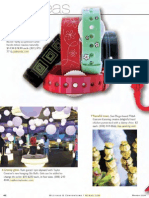 Psi Bands featured in M & C Magazine