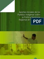 Políticas territoriales y Pueblos Indígenas en San Martín