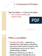 Chapter 1 Basic Concept of Problem and Problem Solving PP