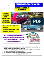 Cars for Childhood Cancer