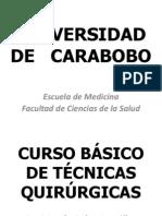 CURSO TECNICAS QUIRUGICAS
