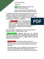 BUENA BUENALINCENCIATURA OCTAVO AÑO 2012 MODIFICADA