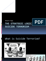 The Strategic Logic of Suicide Terrorism Kumplit