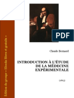 Bernard Introduction Etude Medecine Experimentale
