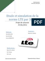 Simulation OFDM sous simulink et étude de la norme LTE