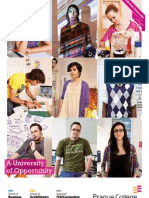 Prague College Brochure 2013