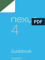 Nexus 4 Guidebook