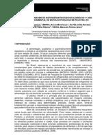 AVALIAÇÃO DO CONSUMO DE REFRIGERANTES EM ESCOLARES DO 1º ANO