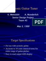electonic guitar tuner.