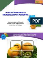 TÉCNICAS MODERNAS DE IDENTIFICACIÓN DE MICROORGANISMOS PATÓGENOS