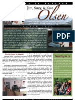 Olsen Newsletter March 2013