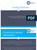 SCJ - UK Security Clearance Types