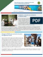 Boletin No. 9.  Programa Regional de USAID para el Manejo de Recursos Acuaticos y Alternativas Economicas.