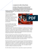 El libro Memoria Armada de los 80s de Pepe Durán