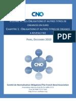 Normes Et Usages Relatifs Aux Obligations Et Autres Instruments de Taux - Volume a Chapitre 1[1]