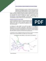 Memoria Descriptiva de Los Sistemas de Agua Potable y Alcantarillado