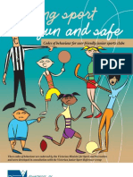 Keeping Sport Fun and Safe