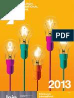 Eif Brochure 2013