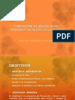FORMACIÓN DE BRIGADISTAS - PRIMEROS AUXILIOS CICLO BASICO