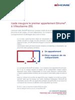 CP Icade inaugure le premier appartement Bihome® à Villeurbanne (69) 22/02/2013