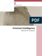 Criminal Intelligence for Analysts