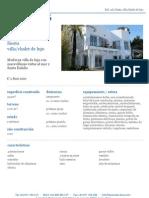 Moderna Villa de Lujo Con Maravillosas Vistas Al Mar y Santa Eulalia