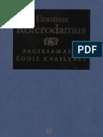 Erasmus.roterodamus. .Pagiriamasis.zodis.kvailybei.2011.LT