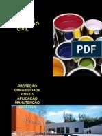 AUT190 - Tintas na construção civil